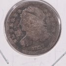 1837 Cap Bust Dime. Circulated Coin. Store #0535.