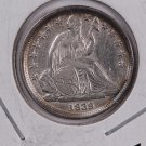 1839 Seated Liberty Dime. Extra Fine Circulated Coin. Store #0551.