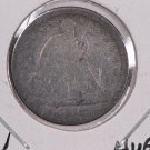 1839-O Seated Liberty Dime. Huge O, Circulated Coin. Store #0556.