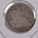 1839-O Seated Liberty Dime. Circulated Coin. Store #0560.
