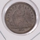 1840 Seated Liberty Dime. No Drape, Circulated Coin. Store #0564.