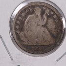 1840-O Seated Liberty Dime. Small O, Circulated Coin. Store #0574.