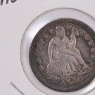 1850 Seated Liberty Dime, Nice Circulated Coin. Store #0620.