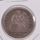 1856-O Seated Liberty Dime,  Very Fine, Circulated Coin. Store #0677.