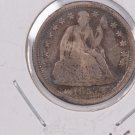 1857-O Seated Liberty Dime,  Circulated Coin. Store #0691.