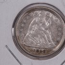 1858-O Seated Liberty Dime,  Choice About UN-Circulated + Coin . Store #0697.