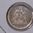 1858-O Seated Liberty Dime,  Choice UN-Circulated  Coin . Store #0699.
