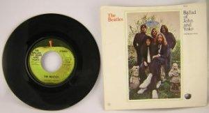Beatles_Ballad of John and Yoko b/w Old Brown Shoe_45rpm_Apple 2531