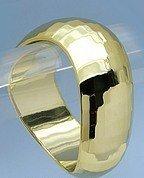 Fabulous Gold Swirl Shaped Bangle Bracelet
