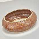 Fabulous Bronze with Gold Accent Bangle