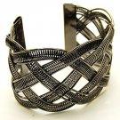 Fabulous Dark Silver Cuff Bracelet