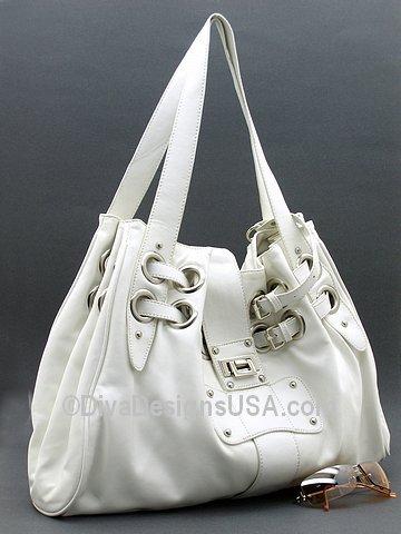 Flirty White Handbag