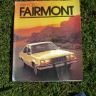 1981 Ford Farimont Sales Brochure