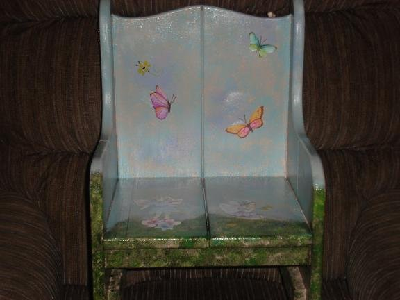 Decorated Childrens Chairs