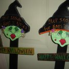Halloween Witches Yard Stakes