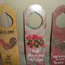 Decorated Door Hangers