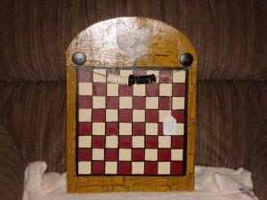 Rooster Checker Board