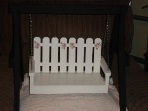 Miniature Swing On A-Frame Stand