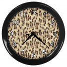 LEOPARD Print Wall Clock Office Home Decor Gift Time  16998317