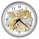 Baby NOAH'S ARK Print Wall Clock Nursery Home Decor Gift Time 17759742.