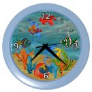TROPICAL FISH Print Wall Clock  Home Decor Gift Time 18901887