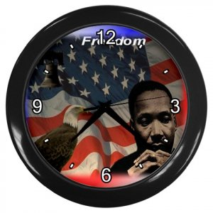 MARTIN  LUTHER KING JR. Print Wall Clock, Home Decor, Office Gift Time 18964575