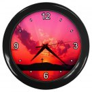 CROSS ON THE HILL Print Wall Clock, Home Decor, Office Gift Time 19035946