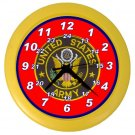 US ARMY MILITARY Wall Clock, Home Decor, Office Gift Time 20504930
