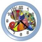 ART PAINT PALLET Wall Clock, Home Decor, Office Gift Time 20567197