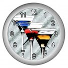 MARTINI DRINKS Wall Clock, Home Decor, Bar Clock, Kitchen Clock, Gift Time 20567724