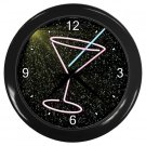 NEON MARTINI GLASS DESIGN Wall Clock, Home Decor, Bar Clock, Kitchen Clock, Gift Time 20571481