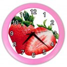 STRAWBERRY Kitchen Wall Clock, Home Decor, Business, Office, Gift Time 20573920.