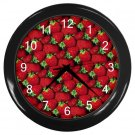 STRAWBERRIES Kitchen Wall Clock, Home Decor, Business, Office, Gift Time 20573935