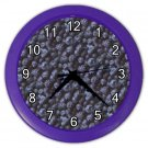 BLUEBERRIES Kitchen Wall Clock, Home Decor, Business, Office, Gift Time 20573950