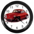 Porsche 356 1950 -1956  Black Wall Clock Home Decor Office Gift Time 15725173