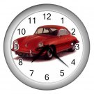 Porsche 356 1950 -1956 Silver Wall Clock Home Decor Office Gift Time 15725174