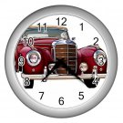 Mercedes Benz Silver Wall Clock Home Decor Office Gift Time 15725227