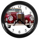 Mercedes Benz Black Wall Clock Home Decor Office Gift Time 15725226