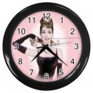 Tiffany Black Wall Clock Home Decor Office Gift Time 17177095