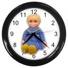 Mrs Beasley Black Wall Clock Home Decor Office Gift Time 17519208