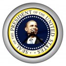 President Seal Obama Silver Wall Clock Home Decor Office Gift Time 17654859