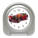 Jaguar SS 1939 Silver Compact Travel Alarm Clock 15725093