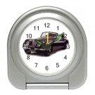 Jaguar XK1948-1954 Silver Compact Travel Alarm Clock 15725146