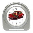 Porsche 356 1950-1965 Silver Compact Travel Alarm Clock 15725199