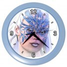 MASKED FACE Artwork Design Wall Clock Home Decor Office Gift Time 21346907