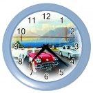 RETRO CORVETTES Design Wall Clock Home Decor Office Gift Time 21344914