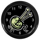 KNITTING Wall Clock, Home Decor, Office Gift Time 21879869
