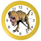 Scary T-REX DINOSAUR Print Wall Clock, Boys Room Home Decor, Office Gift Time 22107255