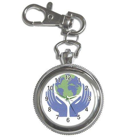 EARTHDAY Watch Pocket Clock Face Key Chain 14431887