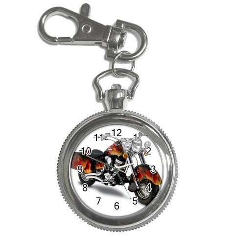 Indian Chief Motorcycle Watch Pocket Clock Face Key Chain 14469672